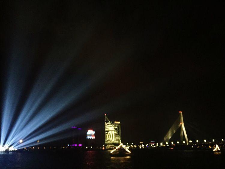 Night Nightphotography Staroriga Staroriga2016 Sky Light Water DaugavaRiver 18 Of November