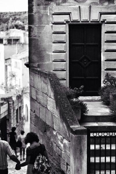 Black And White Les Baux De Provence Noir Et Blanc Streetphotography