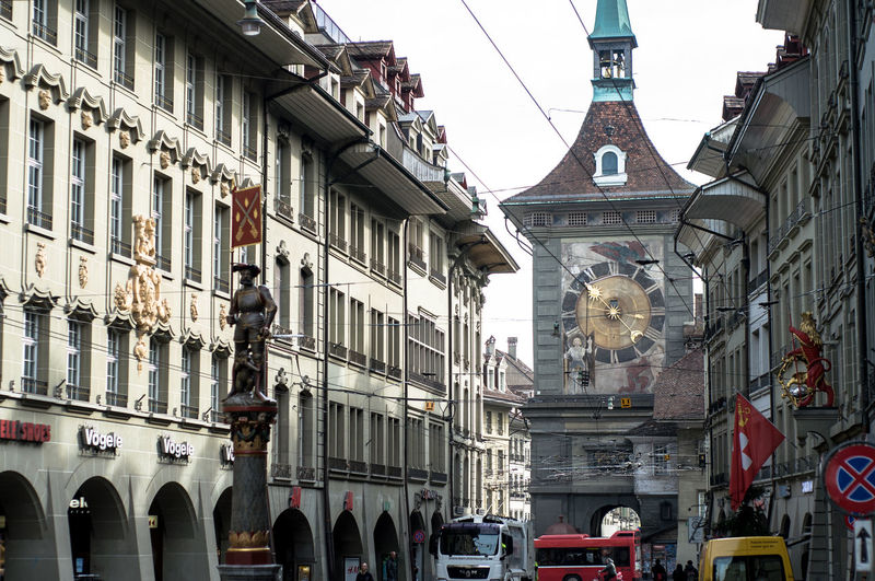 Bern Clock Tower Day Europe Europe Trip European Capital European Culture Historic Building Historic City Travel Travel Destinations Travel Photography