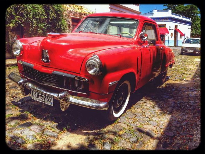 Hermosa Colonia (Uruguay) Popckorn Old Car