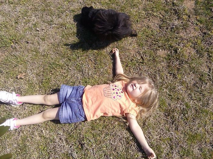My Ray of Sunshine! :-D Sunshine ☀ Granddaughter Nature Relaxing