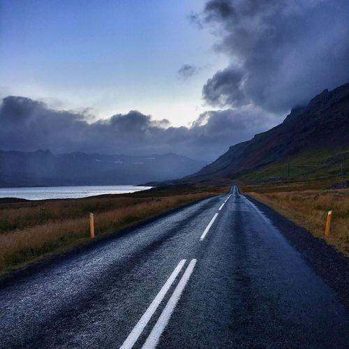 Roadtrip Icelandic Road Road