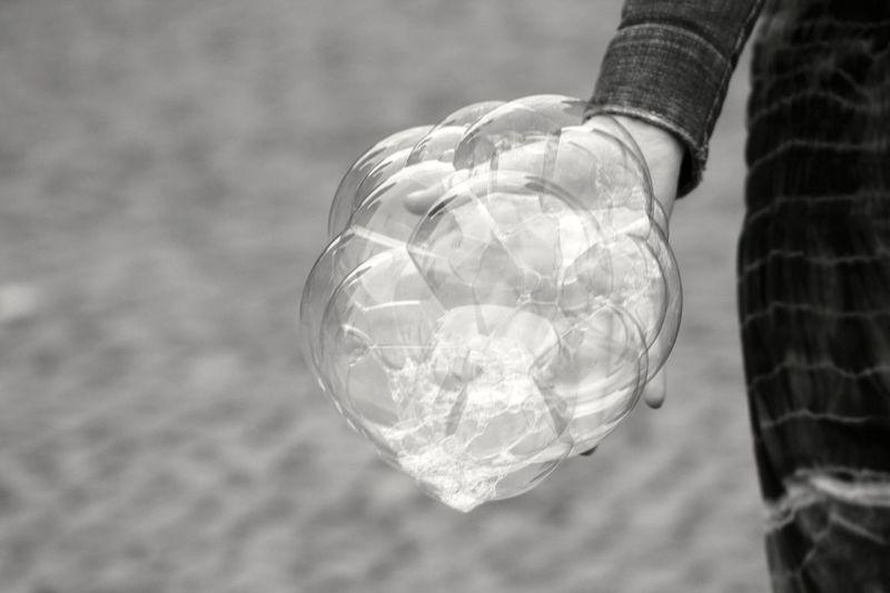 Soap Bubbles Berlin Black And White