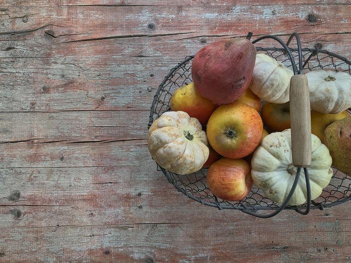 Pears, apples