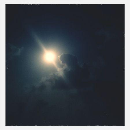 Howling At The Moon nice Sky above Lovezeeland