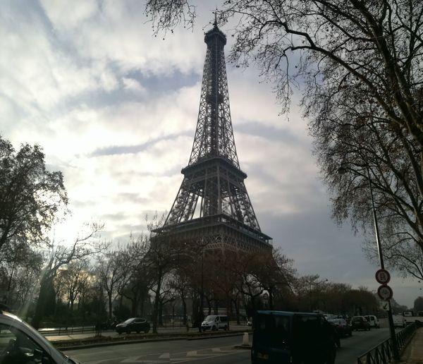 Eiffel Tower City Cultures Monument Architecture