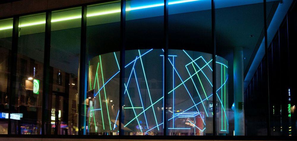 The city where i was born <3 Urban Geometry Flashy Lights