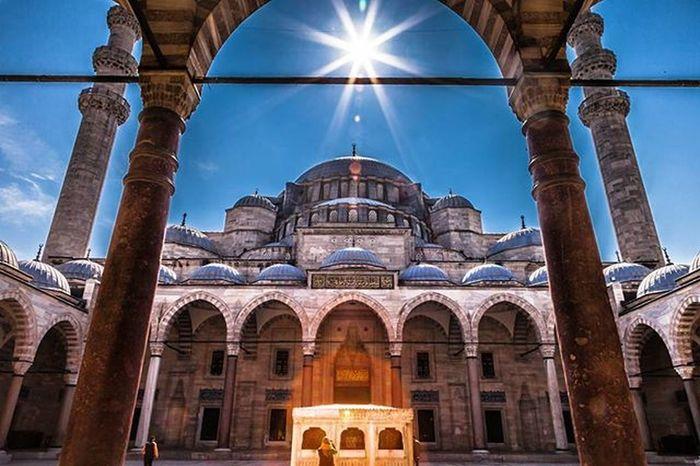 Suleymaniye Suleymaniyemosque Istanbul