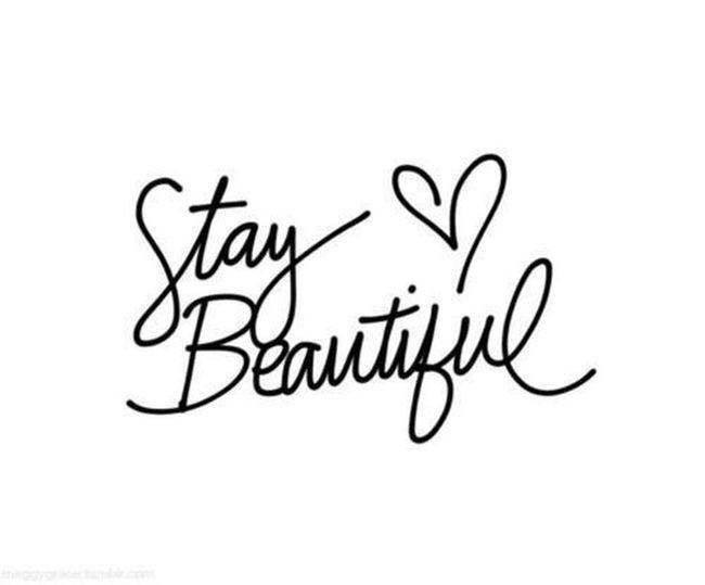 Stay Beautiful Stay Beautiful Heart Love Kiss