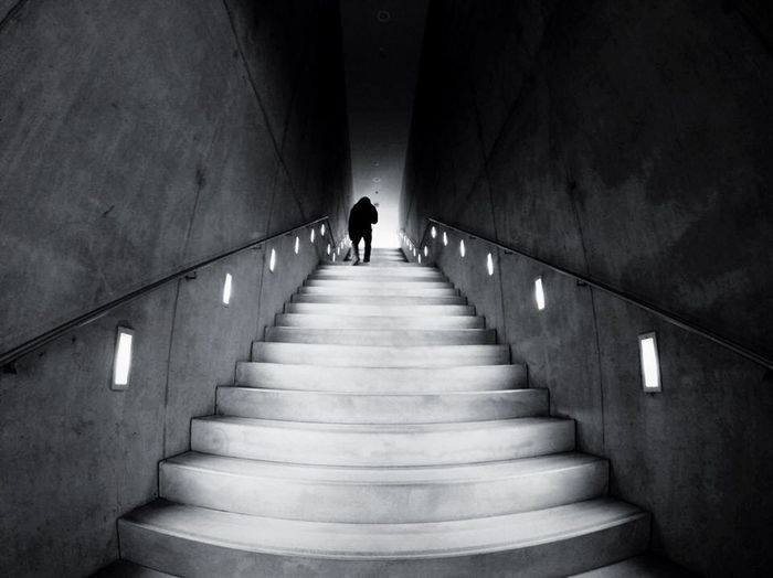 """ And after the stairs ? "" Open Edit EyeEm Best Shots Cityscapes Light And Shadow Creative Light And Shadow The Architect - 2015 EyeEm Awards Silhouette Eye4photography  Architecture Stairs"