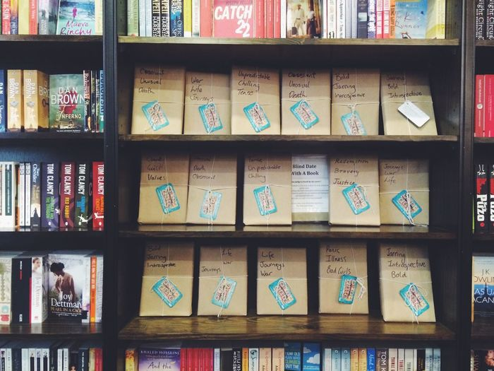 Start a blind date with a book, shall we? Books Never Judge A Book By Its Cover