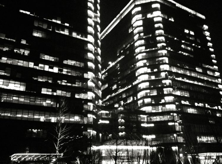 Blackandwhite Building Light In The Darkness Light Take Photos
