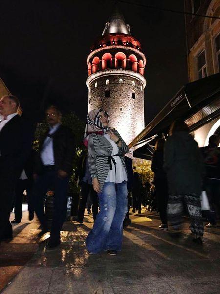 Galata Tower Galatakulesi Kuledibi Istiklal Istiklalcaddesi Taksim Istanbul Turkey