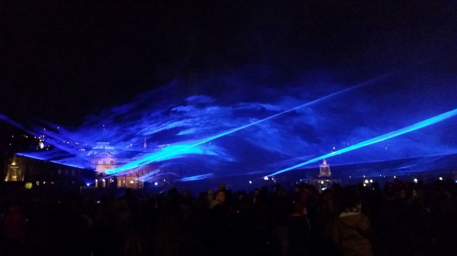 Standing In The Middle Of The Giantic Lasershow Symbolizing Big Waves In The Middle Of Stuttgart. Wasserlichtspiele Leisure Activity Blue Wave Standing in the middle of the giantic Lasershow symbolizing big waves in the middle of Stuttgart. Showtime Blue Enjoyment Water Stuttgart Simulation Stuttgartmobilephotographers Waves Taking Pictures Saturday Night The Great Outdoors - 2016 EyeEm Awards The Street Photographer - 2016 EyeEm Awards The Great Outdoors With Adobe Cities At Night Original Experiences The Mix Up HUAWEI Photo Award: After Dark