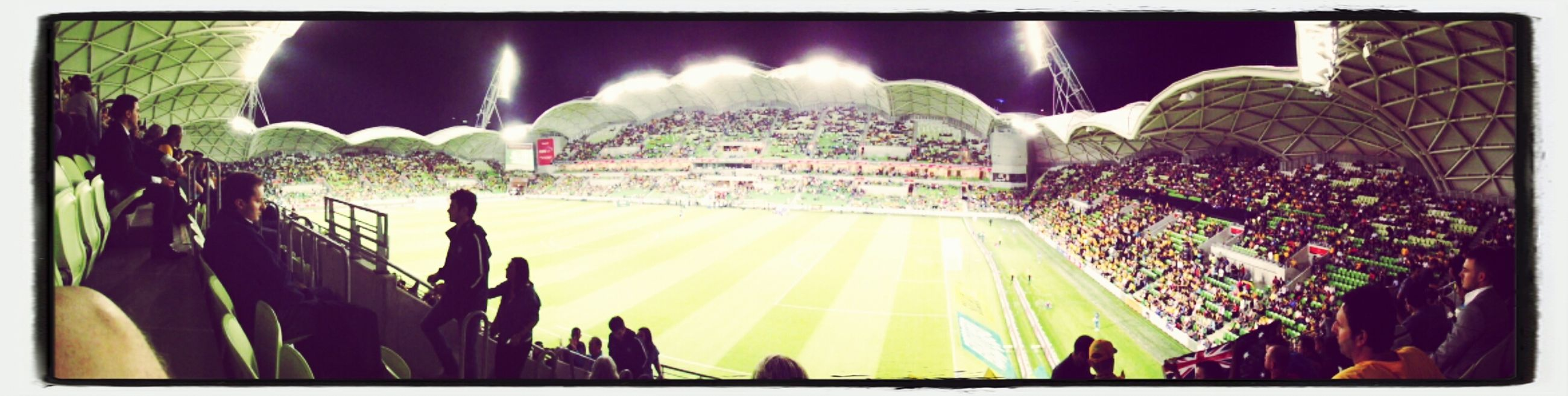 How could I forget, this time last year we enjoyed a great game - Australia v Saudi Arabia