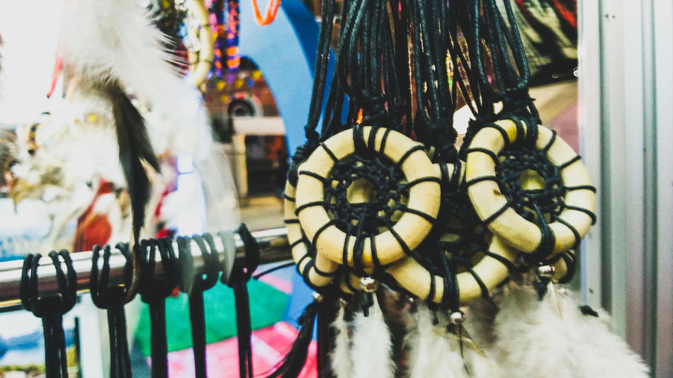Hanging by the Decor Close-up No People Outdoors Hanging For Sale Day Highlights And Shadows Architectural Style Reflection Low Angle View Extreme Close Up Decor Indoors  Handicrafts Philippine Products Handicraft Work Multi Colored Cloudy Arts And Crafts Exhibit  Indoors