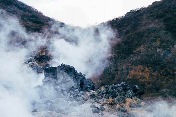 大涌谷 Volcanoes Travel Photography
