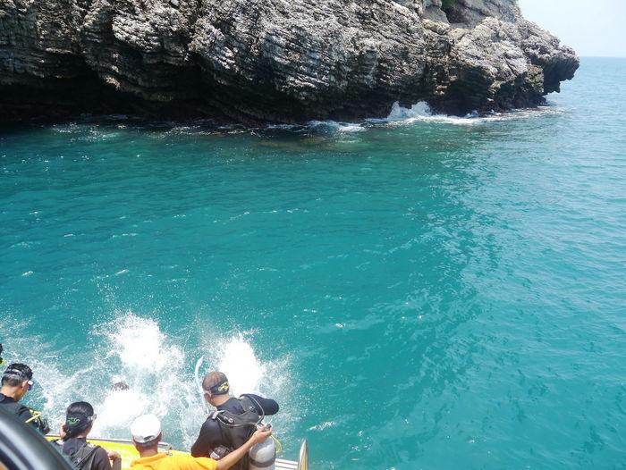 Andaman Andaman Sea Diving Diving Time Diving Vacation Limestone Limestone Islands Phuket Sea Thailand Water