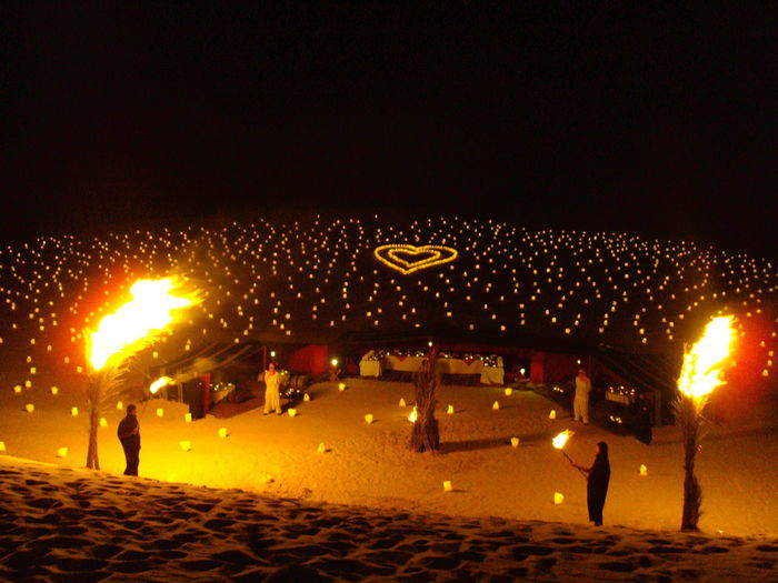 Declaration Of Love Desert Desert Beauty Deserts Around The World Festive Ocassion Love ♥ Romance In The Desert Romance ❤✨✨ Show Of Love Chance Encounters HUAWEI Photo Award: After Dark