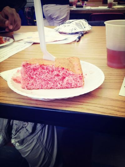 Made Cake In Class