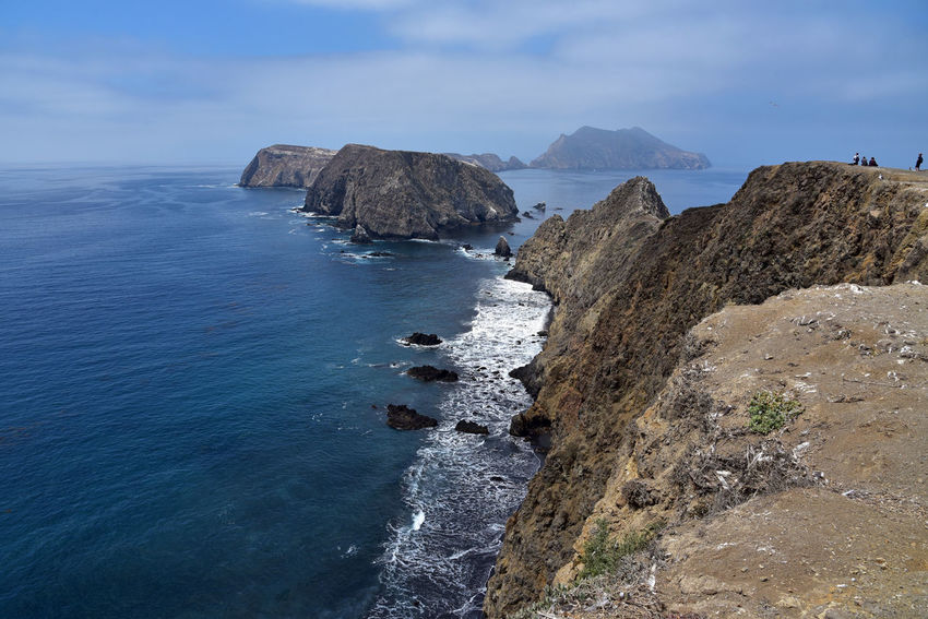 Anacapa Island in Channel Islands National Park, California California Channel Islands Anacapri Beauty In Nature Cliff Horizon Over Water Island Pacific Ocean Rocky Coastline Scenics - Nature Tranquil Scene Water