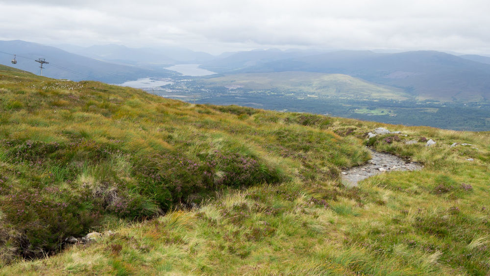 View From Aonach Mor Viewpoint To Loch Eil, Loch Linnhe, Fort William and Corpach Aonach Mor Corpach Loch Eil Nevis Range Mountain Resort Scotland Beauty In Nature Day Fort William Landscape Loch Linnhe Mountain Nature No People Outdoors Scenics Sky Summer Tranquil Scene Tranquility