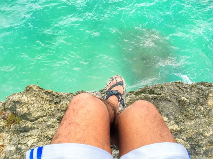 Edge Ocean Waters Cliff