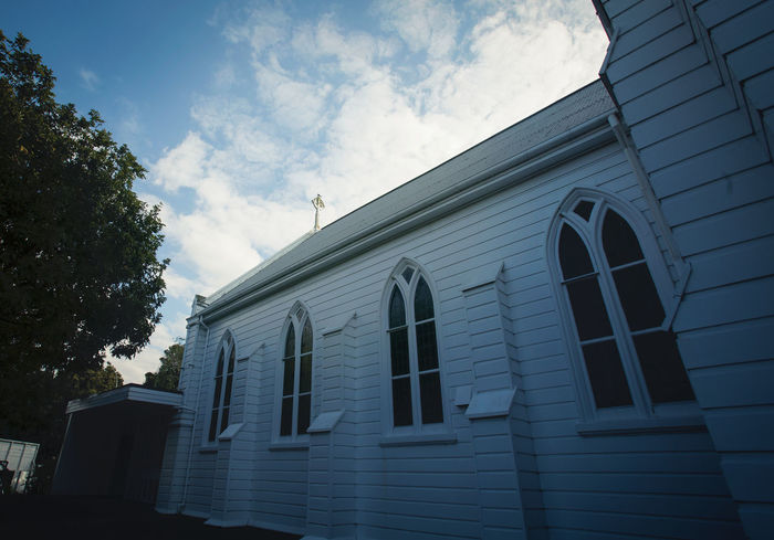 Mt Albert Methodist church Architecture Built Structure Building Exterior Low Angle View Business Finance And Industry Outdoors Travel Destinations Sky No People Day Politics And Government Light And Shadow Church Close-up Cathedral Imagination Collection Place Of Worship Composition Ancient Civilization