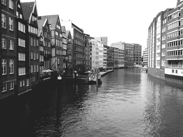 Hamburg. · Germany 040 Hamburgmeineperle Waterfront Buildings Architecture Hanseatic Cityscape Urban Landscape Black And White Black & White Monochrome