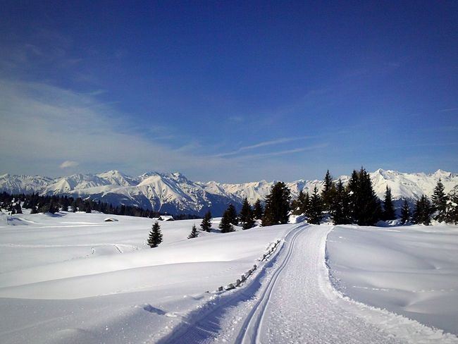 Nature Weather Sky Landscape Winter Blue Snow Day Outdoors Tranquility Transportation Mountain Scenics Beauty In Nature No People White Color Tranquil Scene Cold Temperature Snowcapped Mountain EyeEm Selects Shades Of Winter