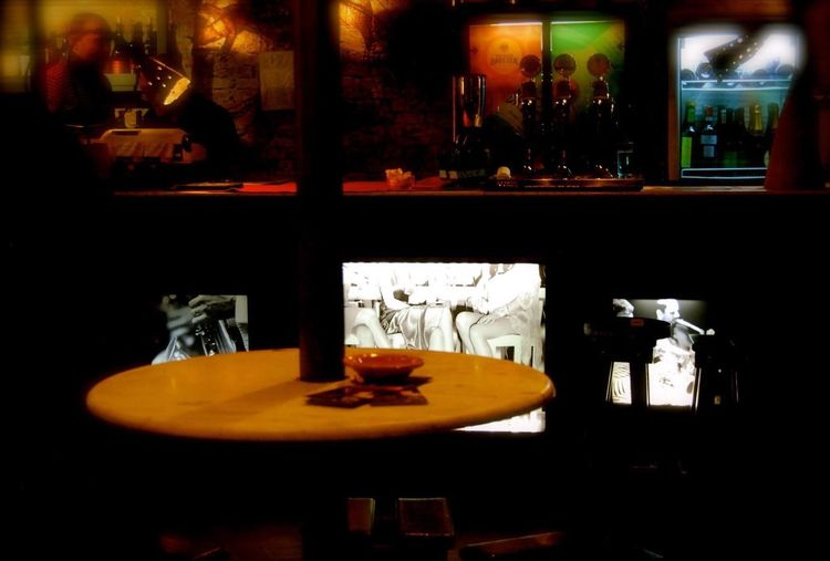 Bar Interior Art