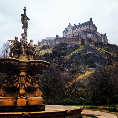 Edinburgh Castle, Scotland Travel Destinations Outdoors No People Castle Scotland