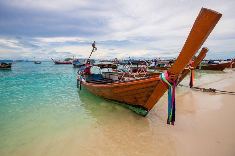 Holiday in Thailand - Beautiful Island of Koh Lipe Adaman Sea Andaman Beach Boat Island Koh Koh Lipe Landscape Lipe Ocean Paradise Scene Sea Seascape Shore Summer Thailand Thailandtravel Tranquility Travel Tropical Wallpaper Wave
