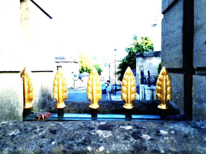 Gold No People Cultures Building Exterior Built Structure Day Outdoors Hanging Tradition Architecture Yellow Tree City Sky Close-up The Street Photographer - 2017 EyeEm Awards