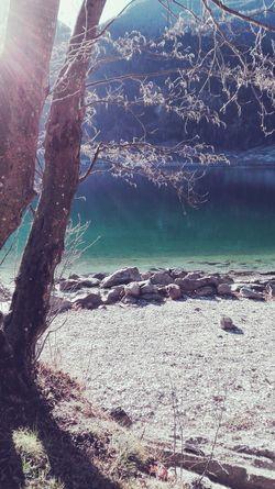 Lake View Lago Di Poschiavo Valposchiavo Winter First Eyeem Photo
