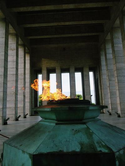 Munumento a la Bandera ❤ Rosario Argentina Fire First Eyeem Photo