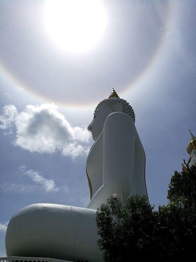 Sun Halo Big Buddha Statue