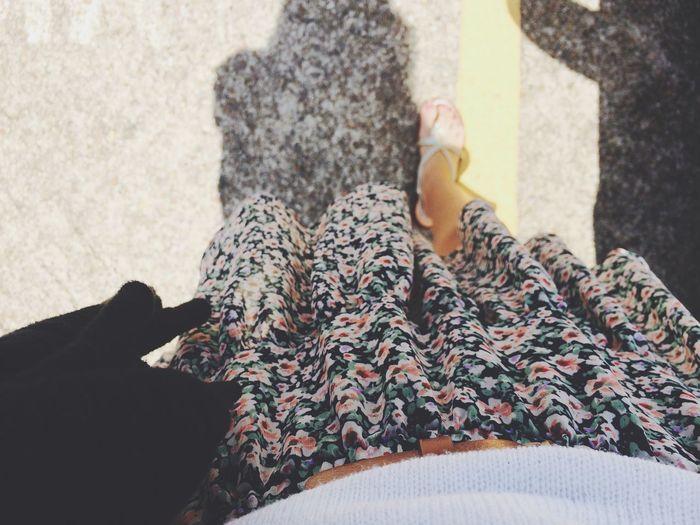Feeling Good Niceweather Onasunday Cute Skirt