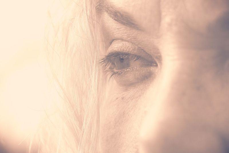 Human Body Part One Person Portrait Body Part Women Adult Eye Human Eye Abstract Softness