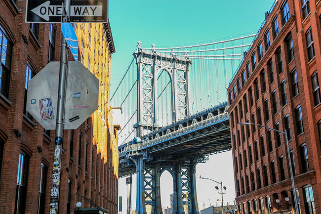 Steel Bridge Bridge Pillar Bridge Photography Bridge DUMBO, Brooklyn DUMBO Manhattan Bridge Manhattan Bridge/New York Brooklyn New York NYCImpressions Nycphotography NYC Photography NYC Metropole Metropolitan Tourism Travel Destinations City Architecture Travel