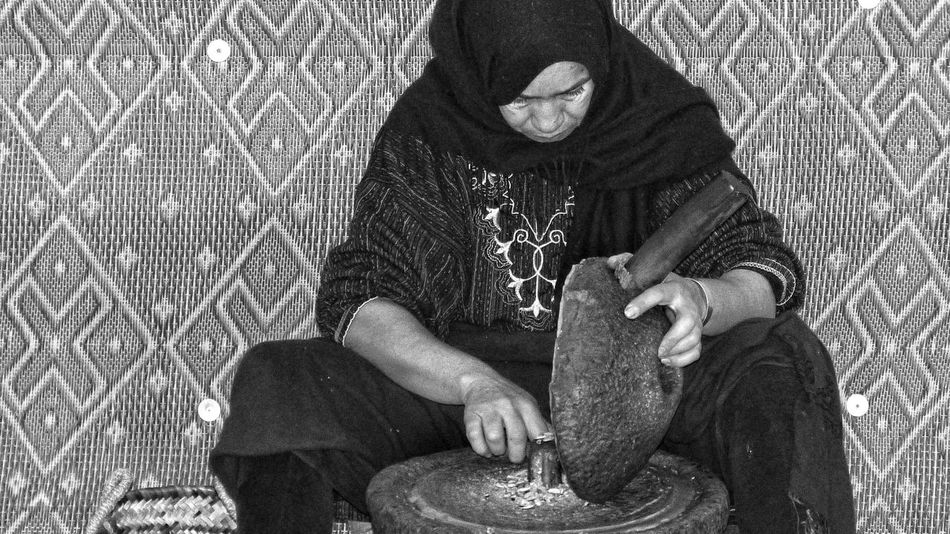 ArganOil Argan Maroc Marocco Blackandwhite Black And White WomeninBusiness