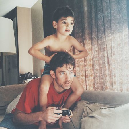 Modern Father help me win dad The Moment - 2015 EyeEm Awards