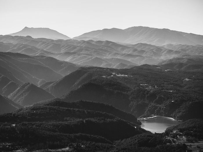 Mountains Monochrome Blackandwhite Nature Water Osona