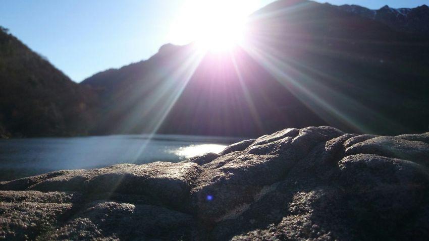 Nature Lake Water Sunshine Sun