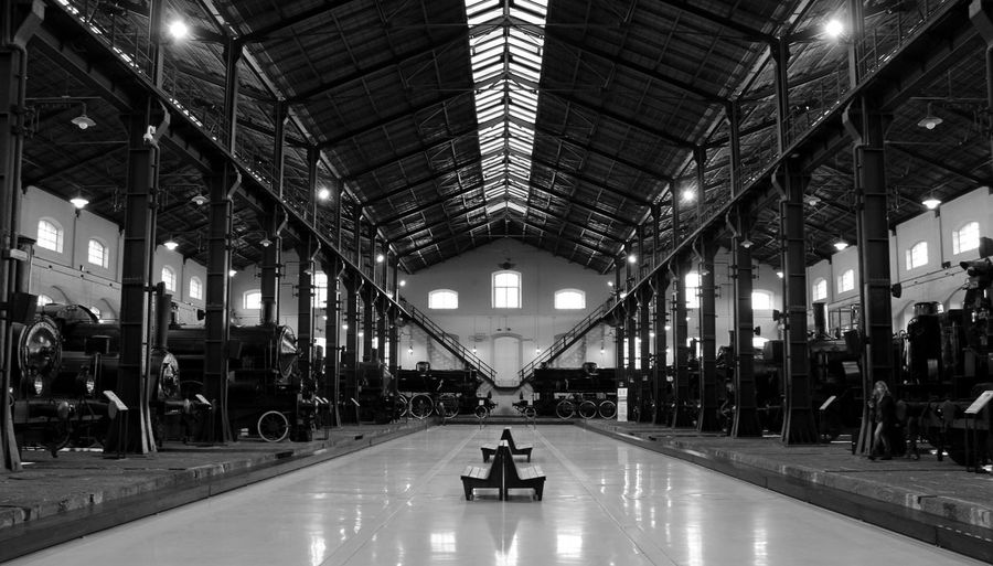 Pietrarsa, Napoli, Italy Indoors  Architecture Train Station Trainphotography Train