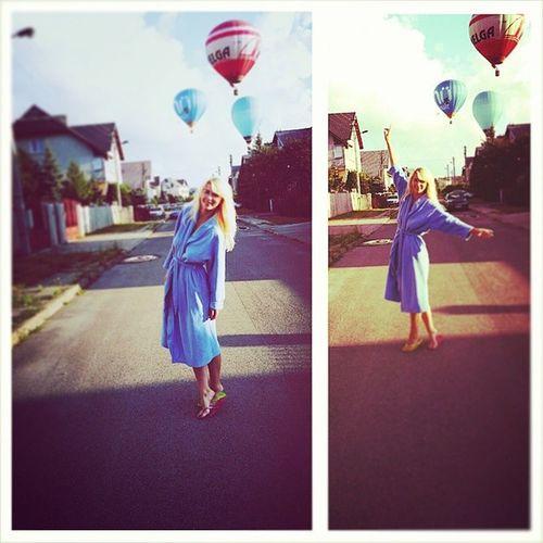 Penktadienis! AirBalloon Bluerobe