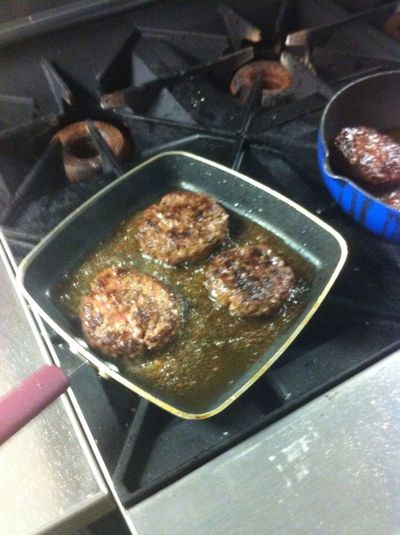 Yea Making Dem Burgers N Cooking Class Yea A Nigga Could Cook