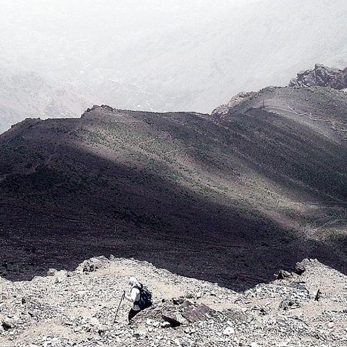 Iran Tehran Tochal Mountain berg hiking natur gebirge darband shirpala