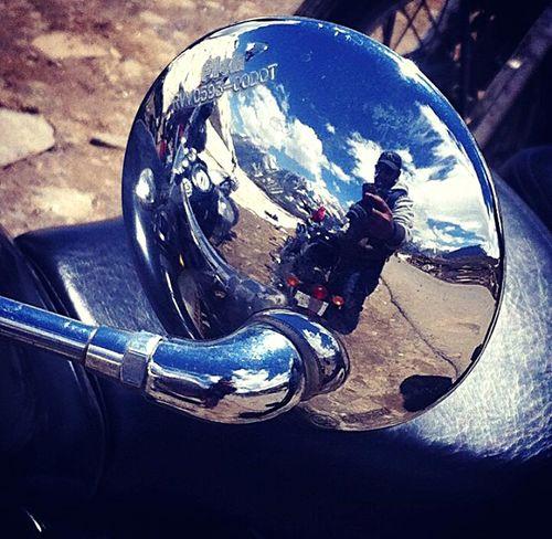 Rohtang pass Bike Ride Freezed
