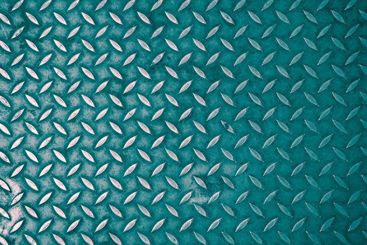 Texture of a rough metallic blue surface. Closeup Pattern Backgrounds Full Frame Textured  Metal No People Close-up Sheet Metal Abstract Alloy Silver Colored Indoors  Steel Directly Above Design Textile Gray Old Textured Effect Diamond Shaped